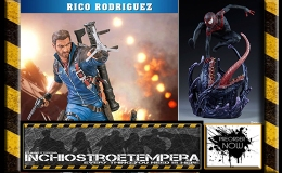 Preorder: Spider-Man Miles Morales, Terminator Genisys: Endoskeleton Bust, Just Cause 3 Rico Rodriguez Statues