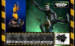 Preorder: Joker Premium Format, Wolverine by Erick Sosa, The Legend of Korra, Iron Studios 1/10 T-RexStatues
