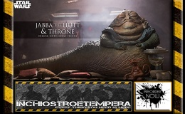 Preorder: Sideshow Collectibles – Jabba the Hutt and Throne Deluxe 12″ Figure