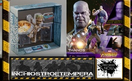 Preorder: Hot Toys – Life-Size Masterpiece Groot + Avengers Infinity War 1/6 Thanos