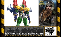 Preorder: Asmus LOTR 1/6 Gimli + Steel Jeeg Light-Up Action Figure DH Goukin