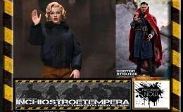 Preorder: Hot Toys Doctor Strange + Star Ace Marilyn Monroe Military Outfit 12″ Figures
