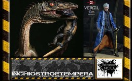 Preorder: Damtoys – Coelophysis Statues + Asmus Toys – Devil May Cry 3: Vergil 12″ Figure