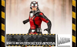 PVC Figure News: Kotobukiya – Marvel Antman and the Wasp ARTFX+Statue