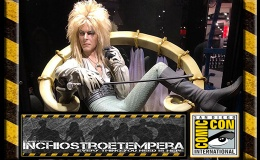 Fiere: SDCC 2018 – Chronicle – David Bowie as Jareth the Goblin King on Throne –Labyrinth