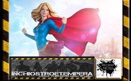 Preorder: Sideshow Collectibles – Supergirl Premium Format™ Figure ByArtgerm