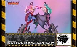 Preorder: HMO – Darkstalkers Statues 1/4Morrigan