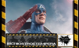 Preorder: Sideshow – Captain America Sixth ScaleFigure