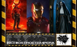 Preorder: Sideshow Iron Man Mark III Lifesize Bust + The Conjuring The Nun Statue + Hot Toys Hellboy 12″ Figure