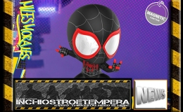 Vinyl Toys News: Hot Toys Spider-Man – Into the Spider-Verse CosbabyCollection