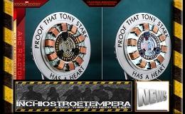 12″ AF News: Hot Toys | LMS012 – Iron Man – Tony Stark's Arc Reactor Life-SizeCollectible