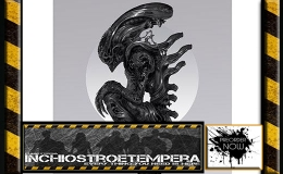 Preorder: Sideshow – Premium Print | Alien Perfect Specimen by Nekro + Red Sonja by Derrick Chew