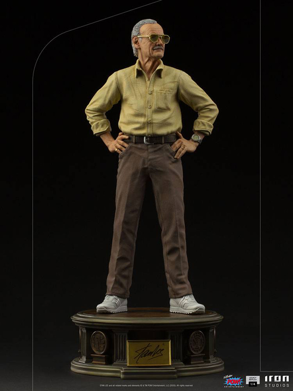 Stand Mini Co Detailed Stan Lee PVC Figure 14 cm Marvel on Excelsior